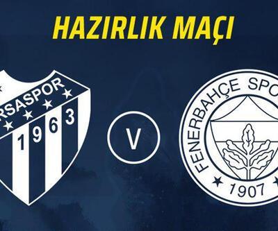 Bursaspor Fenerbahçe CANLI YAYIN