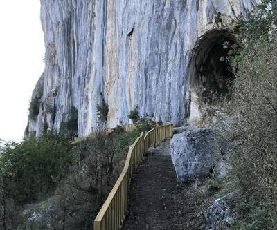 Küre Dağları'ndaki mağara turizme kazandırıldı