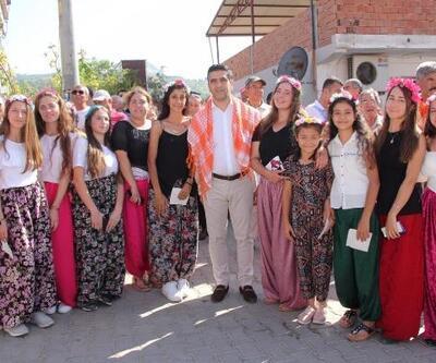 Menderes'te üzüm festivali coşkusu