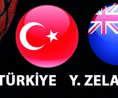 Türkiye Yeni Zelanda basketbol maçı ne zaman, saat kaçta, hangi kanalda?