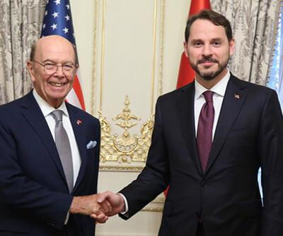 Bakan Albayrak, ABD Ticaret Bakanı ile görüştü