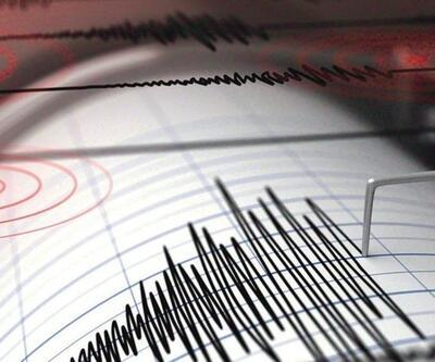 Marmaris açıklarında korkutan deprem