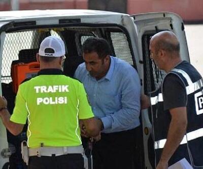 Camiden hırsızlık şüphelisi tutuklandı