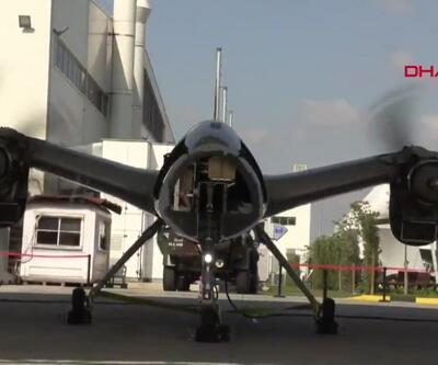 Savaş uçaklarının görevini yapacak Akıncı İHA pist başı yapıyor