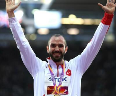 Ramil Guliyev'den birincilik