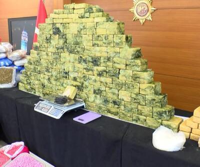 17 milyonluk uyuşturucu yakalandı