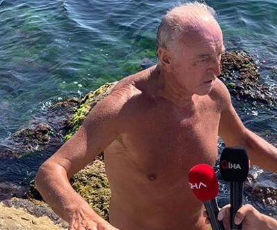 Kayalıklardan denize düşen kişiyi vatandaşlar kurtardı