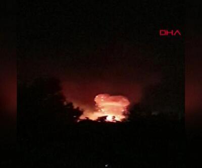 KKTC'de askeri bölgede patlama! Cumhurbaşkanı Akıncı: Endişe edecek birdurum yok