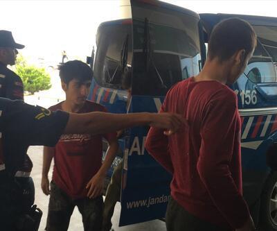 Kırklareli'nde 43 göçmen yakalandı