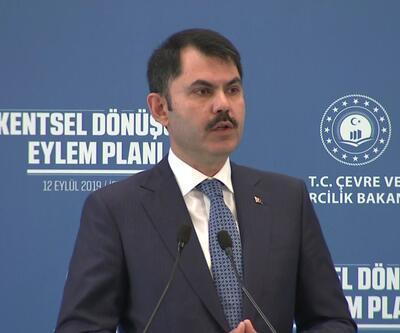 Son dakika: Bakan Kurum, Kentsel Dönüşüm Eylem Planı'nı açıkladı
