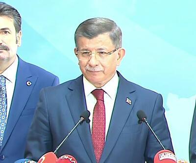Son dakika... Ahmet Davutoğlu AK Parti'den istifa etti