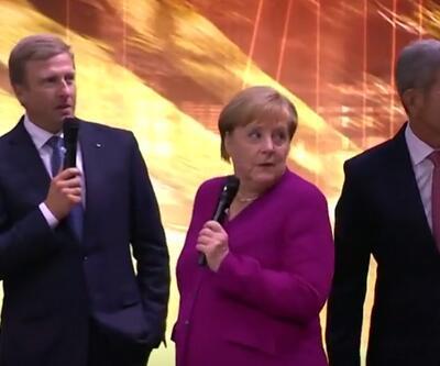 Kimse beklemiyordu: Merkel şaştı kaldı