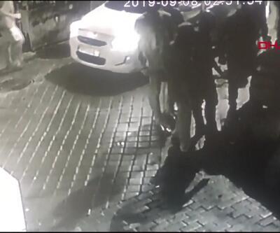 Cinayetin öncesine ait görüntüler kamerada