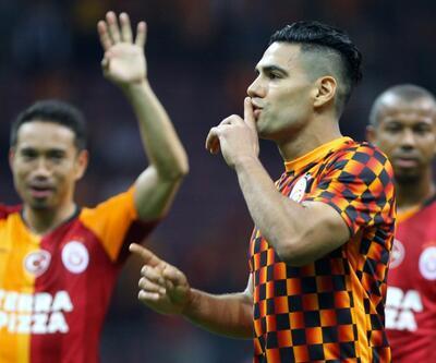 Falcao gol attı ama herkes onu konuştu