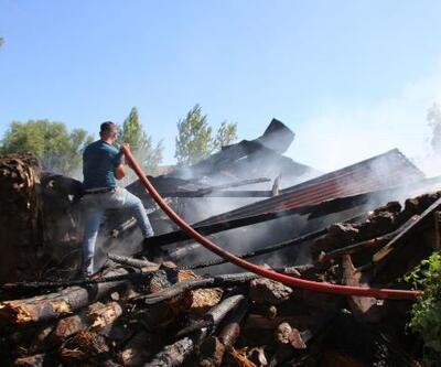 Varto'da yangın