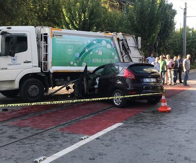 İzmir Konak'ta feci kazası: 2 ölü, 2 yaralı