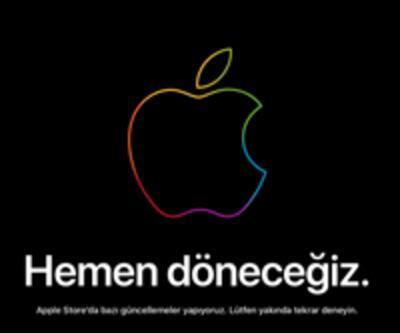 Apple Store bakıma aldı