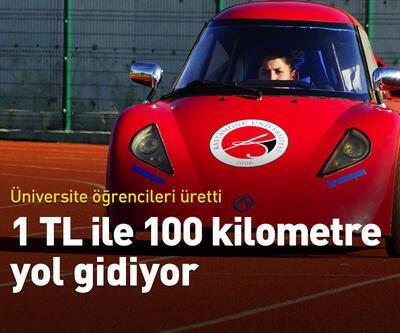 1 TL ile 100 kilometre yol gidiyor