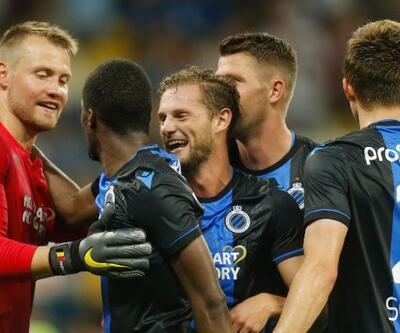 Club Brugge deplasmanda kazandı