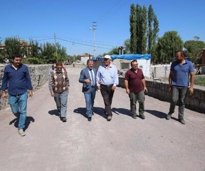 Hacılar'da alt ve üst yapı çalışmaları devam ediyor