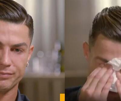 Cristiano Ronaldo gözyaşlarına boğuldu