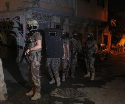 Kadıköy'de uyuşturucu operasyonu: 35 adrese baskın
