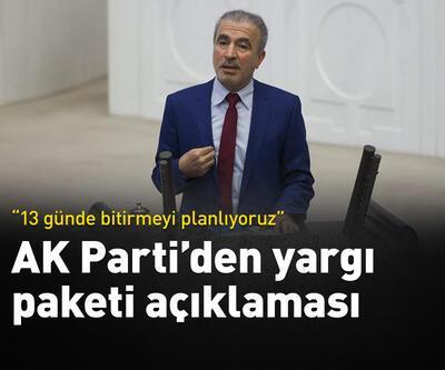 Naci Bostancı'dan yargı paketi açıklaması