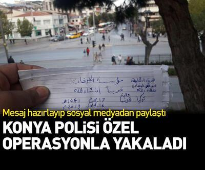 Konya Valiliği açıkladı: DEAŞ üyesi yakalandı