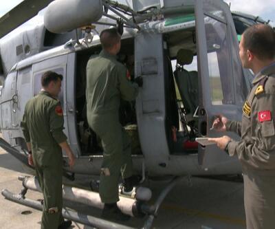 Deniz savaş pilotları ilk uçuşlarını bu helikopterde yapıyor