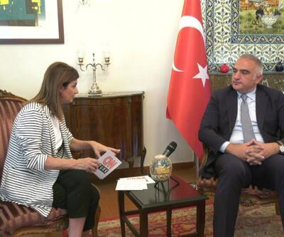 Turizm Bakanı CNN TÜRK'e özel açıklamalarda bulundu