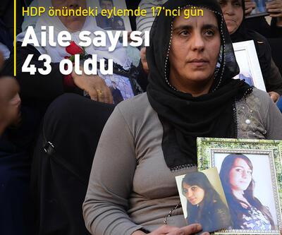 HDP önündeki eylemde 17'nci gün