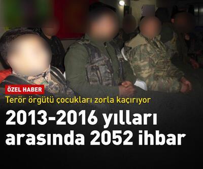 2013-2016 arasında 2052 kaçırma ihbarı