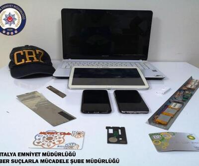 Kopya kart düzeneğiyle vurgun yapan 2 kişi tutuklandı