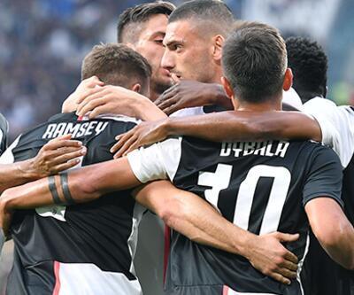 Merih Demiral Juventus'ta ilk maçına çıktı