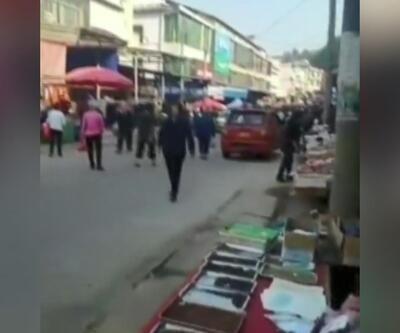 Çin'de kamyon kalabalığın arasına daldı: 10 ölü, 16 yaralı