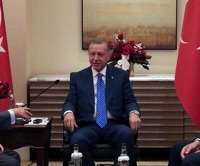 Cumhurbaşkanı Erdoğan'ın ABD'deki diplomasi trafiği