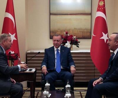 Erdoğan, Lindsey Graham'ı kabul etti