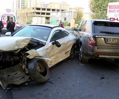 Zeytinburnu'nda makas atan alkollü sürücü dehşeti
