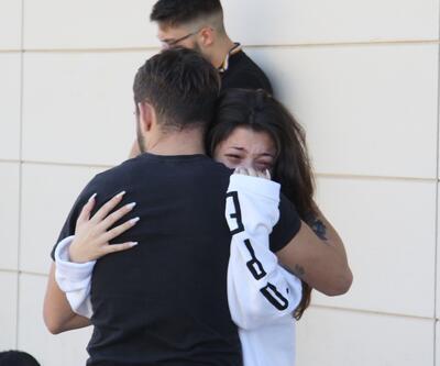 En acı bekleyiş... Gözyaşlarını tutamadılar