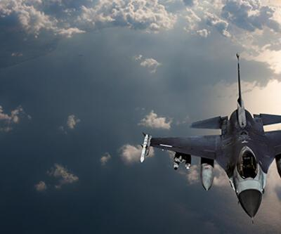 Türk jetlerinden Suriye hava sahasına uçuş