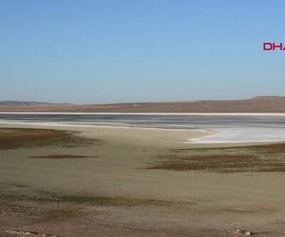 Düden Gölü alarm veriyor