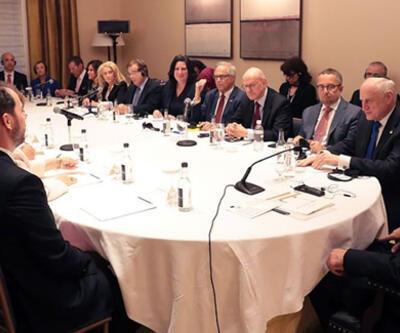 Cumhurbaşkanı Erdoğan ABD'de Yahudi kuruluş temsilcileriyle buluştu