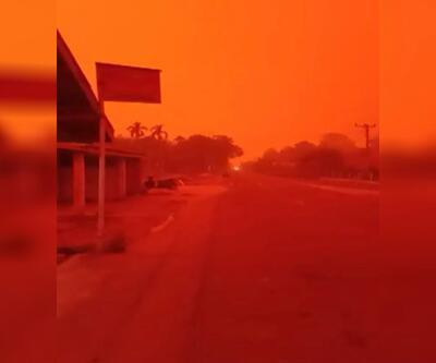 Burası Mars değil Endonezya