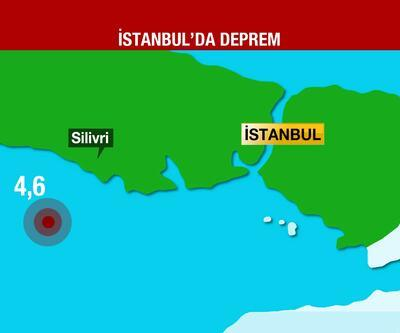 Son dakika... İstanbul'da korkutan deprem