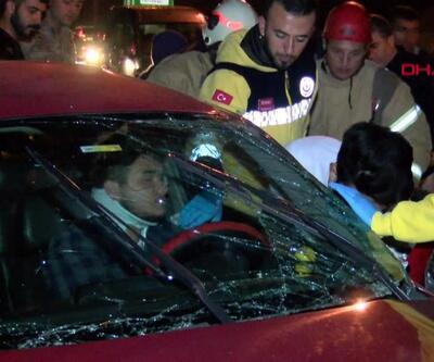 TEM'de kaza, 3 yaralı