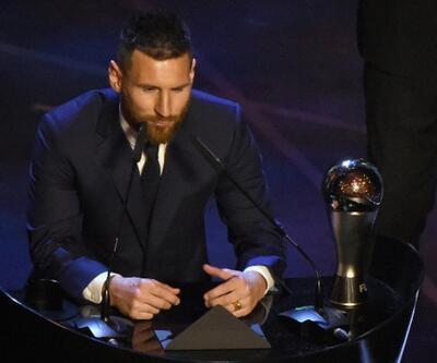 Lionel Messi ödüle doymuyor