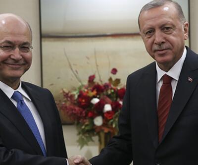 Cumhurbaşkanı Erdoğan, Salih ile görüştü