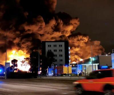 Son dakika... Fransa'da kimya fabrikasında yangın ve patlama