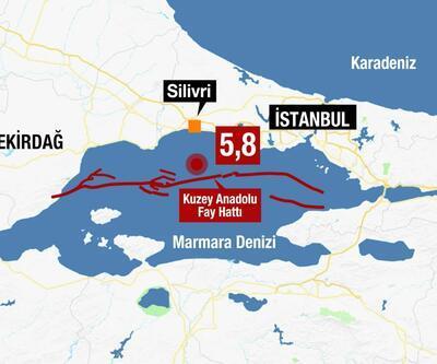 Son dakika: İstanbul'da büyük deprem!