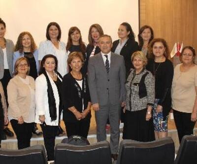 Kadın girişimciler, Bergama Ticaret Odası'nda seminere konuk oldu